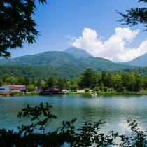 夏の蓼科湖