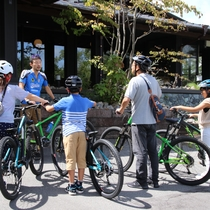 【Mountain Bike Tour】サイズは2サイズあるから、女性も安心