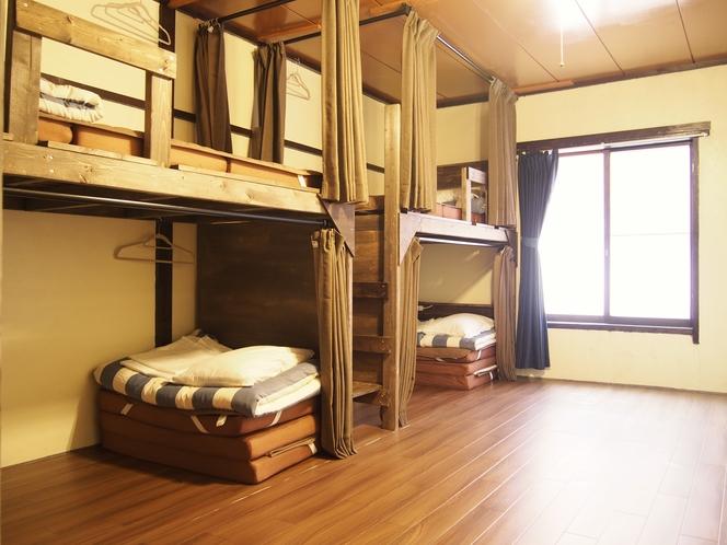 個室5~6名様 バンクベッド