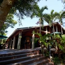 【fuu cafe】約200坪の広々とした庭が魅力のカフェ 当館から車で約15分です