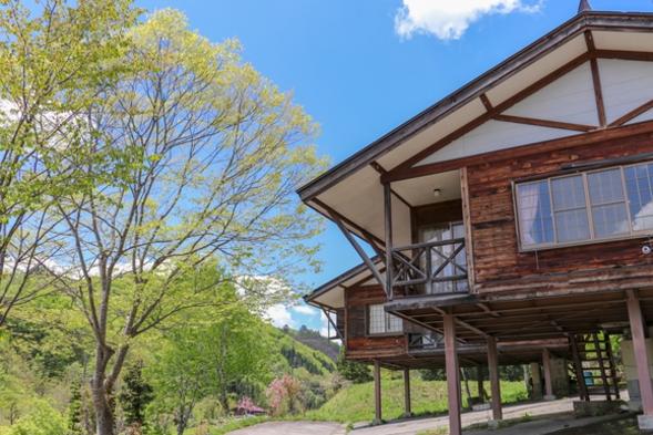 【別荘体験】大自然の中でプライベートコテージをまるまる1棟貸し切り♪