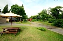 森の家敷地