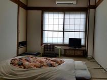 2名様~3名様の和室のお部屋になります。