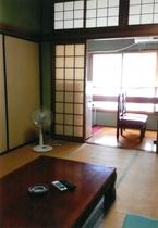 3名様~5名様の和室の客室です。
