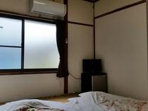 4.5畳のお部屋です。1名様~2名様までのお部屋です。