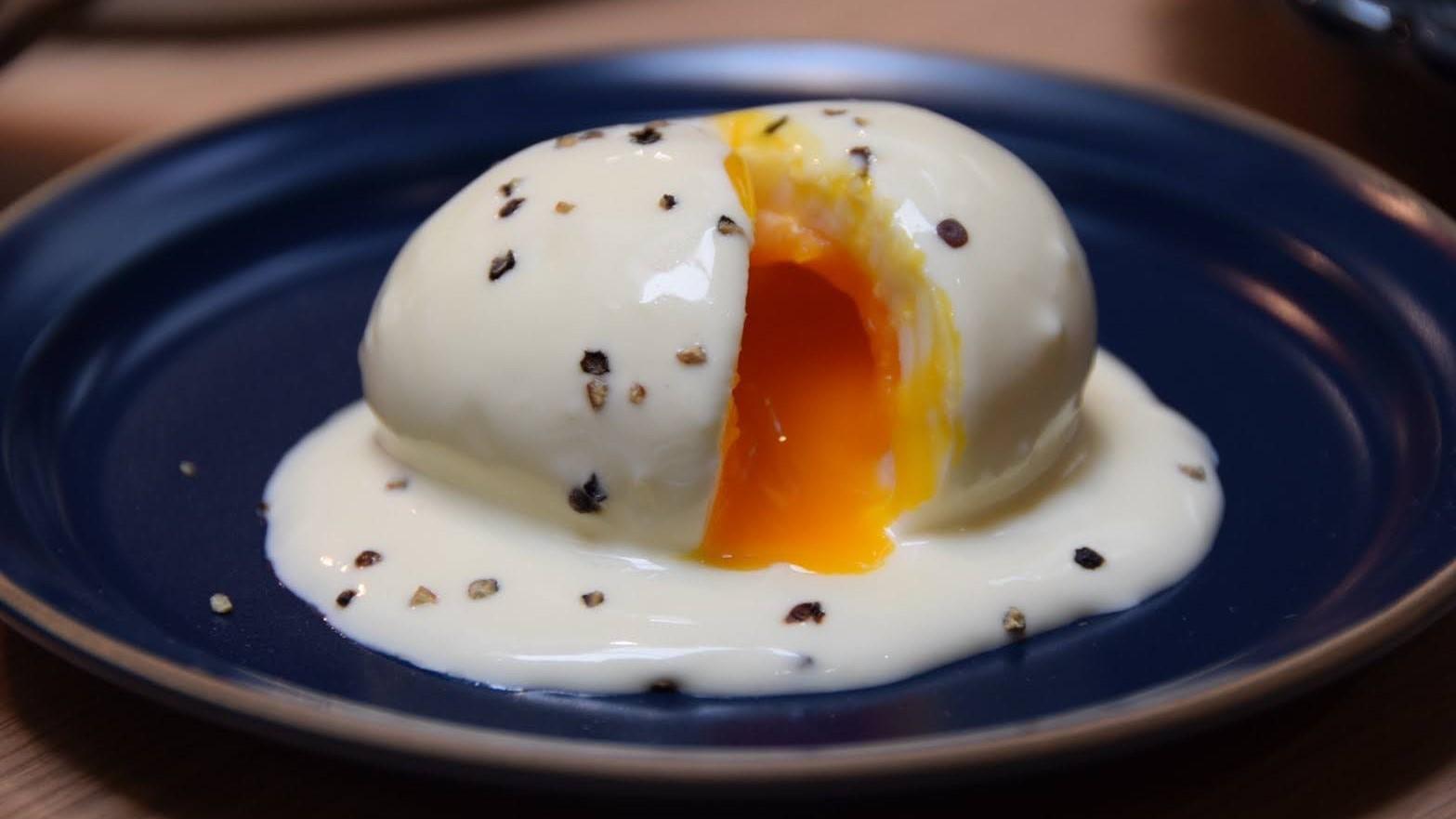 【朝食ブッフェ】半熟とろとろ!フランス風 ウフマヨ