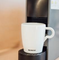 【客室備品】ネスプレッソ コーヒーメーカー