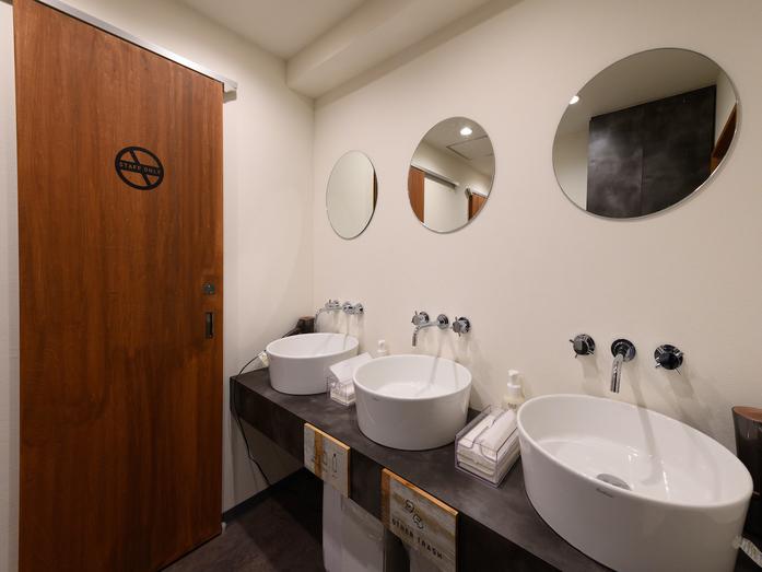 ホテル&ホステルSEVENGARDEN東京浅草|水回り共有部です。