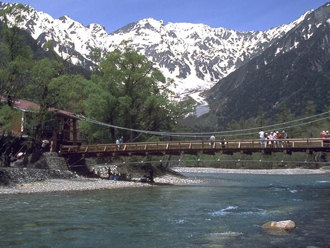 【観光スポット】上高地の河童橋