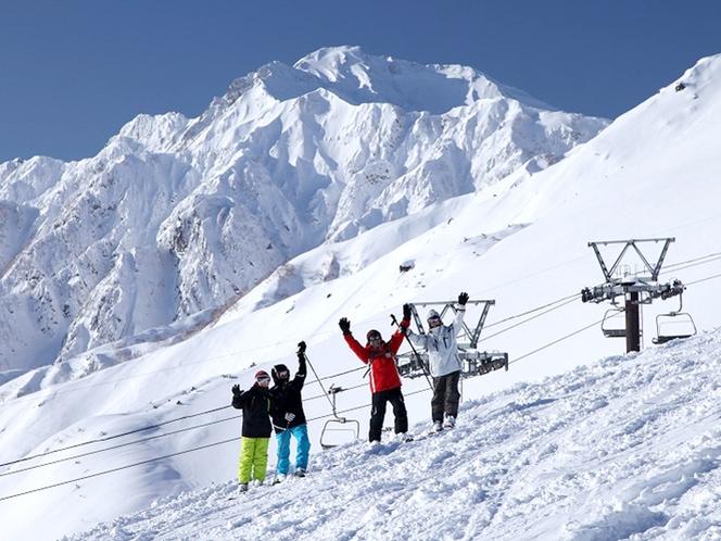 【観光スポット】白馬八方尾根スキー場