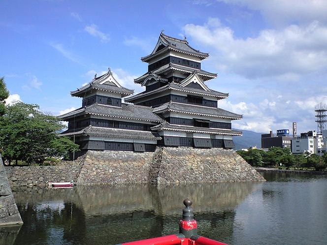 【観光スポット】松本城