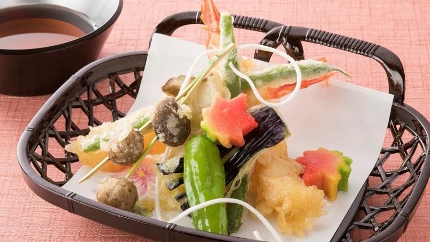 <レストラン「四季の蔵」>【一品料理】 天ぷら盛り合わせ