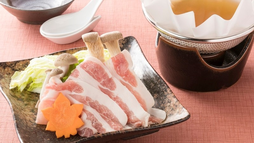 <レストラン「四季の蔵」>【一品料理】 大和ポーク豚しゃぶ