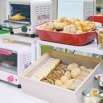 【朝食】焼きたてパン6種