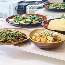 【朝食】日替わり和惣菜コーナー