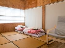 2階寝室布団