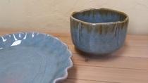 *【近隣店舗】 有馬温泉の金泉を使った焼物「有馬温泉焼」を考案した温馨窯の焼物。