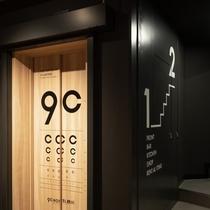 実は視力検査もできるおちゃめなエレベーター。
