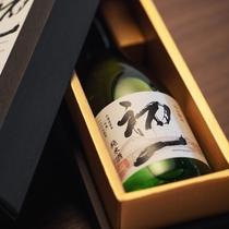 層雲峡温泉のホテルにしか売っていない、特別な日本酒。