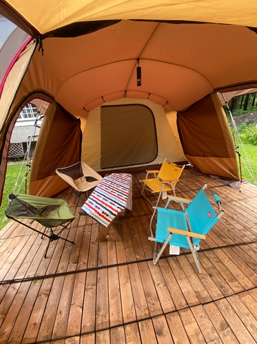 テント前室