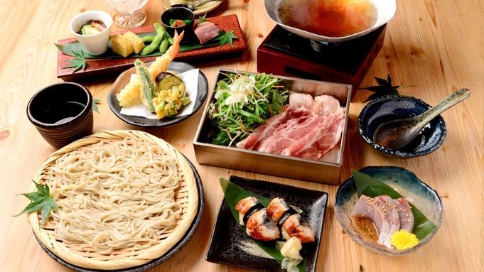 【ご褒美ステイケーション】夕食は蕎麦酒房「ふくまる」で十割蕎麦を堪能(夕朝食付き)