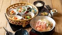 蕎麦酒房「ふくまる」朝食イメージ(セットメニュー)