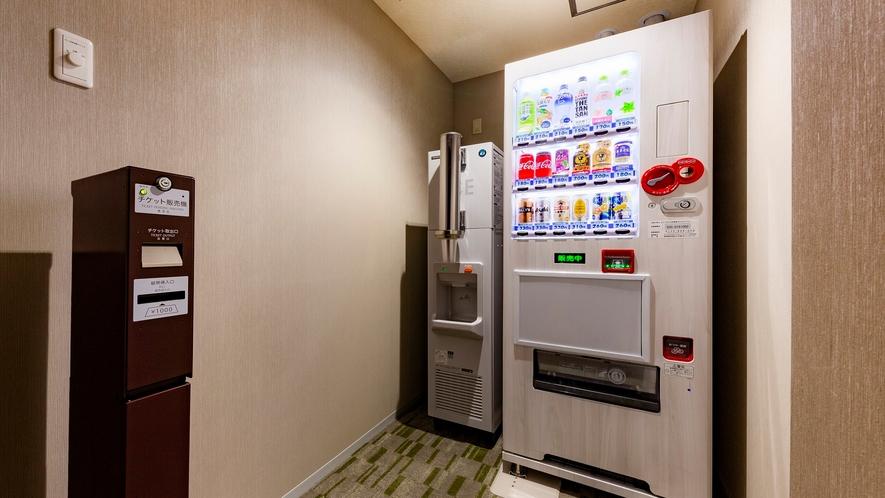 【3~12階】VODカード販売機・自動販売機・製氷機