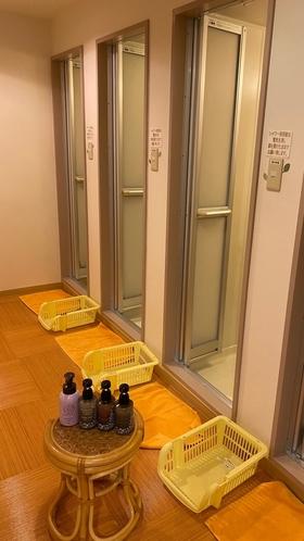 ゆらくシャワー室