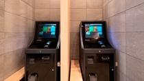 館内施設 自動精算機は2台完備