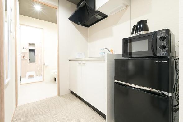 【連泊割】2泊以上で特別価格★長期滞在大歓迎◎全室キッチン・調理器具付き、自炊OK!