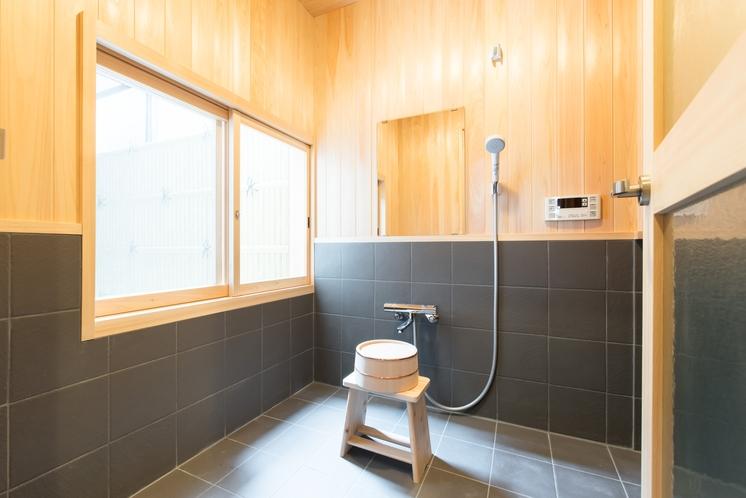 お風呂です 和をテーマにしたデザインとなっております