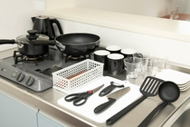 全室キッチン・調理器具・食器類を完備しております ご自由にお使い下さい