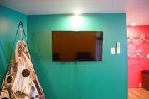 デラックスルーム 壁掛TV