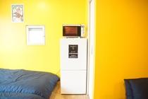 デラックスルーム 冷蔵庫 電子レンジ