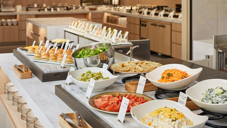 【朝食】洋食 ※ブフェ形式での料理提供を現在見合わせております。※イメージ