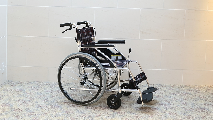 【貸出備品】館内専用車椅子 ※イメージ