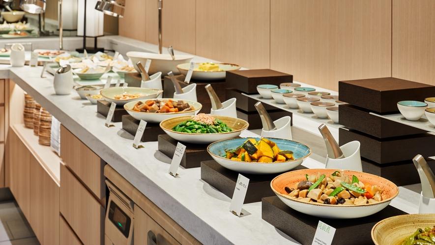 【朝食】和食 ※ブフェ形式での料理提供を現在見合わせております。※イメージ