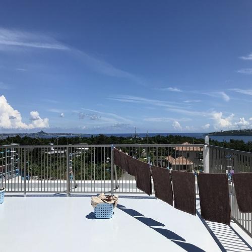 昼間の屋上