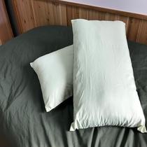 枕は2個あって嬉しい
