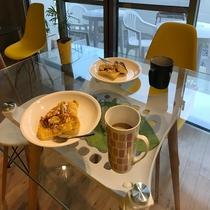 朝食アレンジ