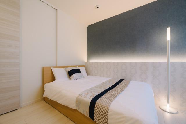 デラックスアパートメント  ベッドルーム
