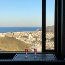 「結-yui」窓からの眺め