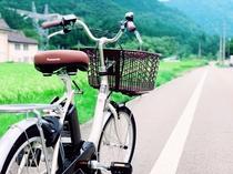 【レンタサイクル】白川郷まで田舎道をサイクリング♪(有料)
