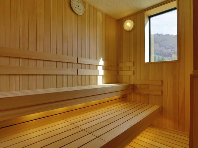 【大浴場】『佳月の湯』サウナ
