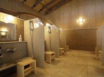 【大浴場】洗い場:計7カ所ご準備ございます。