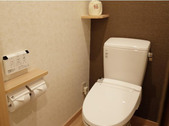 【客室:設備】全室 温水洗浄便座