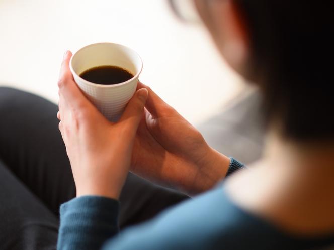 【サービス】ウェルカムドリンクでコーヒーをご準備。是非、お飲みください。