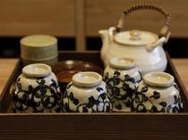 【客室:設備】お茶セット