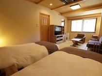【客室】フォース◆42.7平米 窓からは豊かな自然が一望できます。
