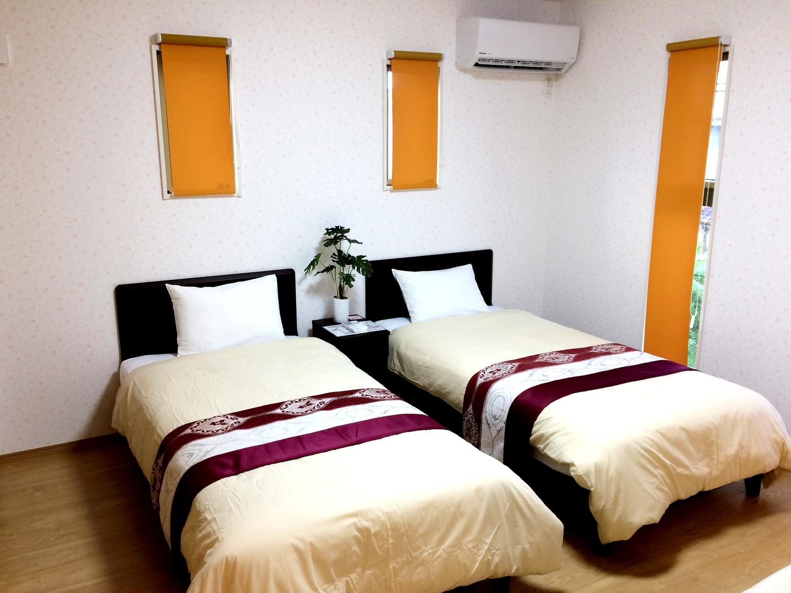 寝室オレンジ(1)☆